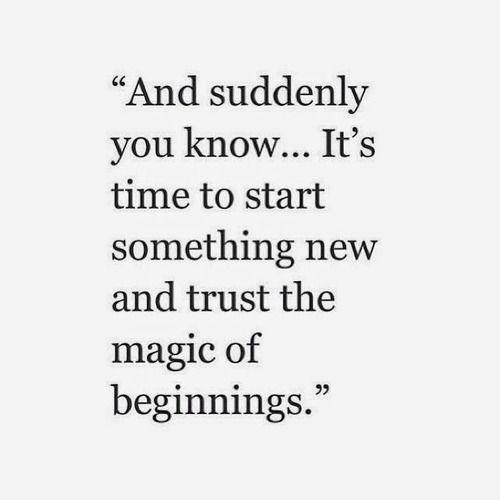 Een nieuwe, positieve start